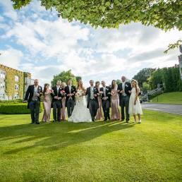 Gledis & Tommy's wedding at Dromoland Castle