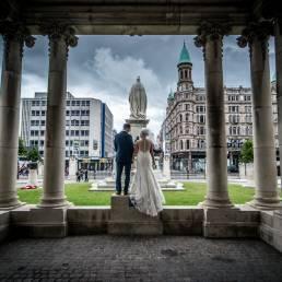 Jennifer & Ken's wedding at Ten Square