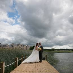 Megan & Philip's wedding at Lough Erne