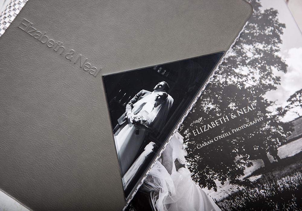 Bespoke Wedding Albums by Ciaran O'Neill Photography