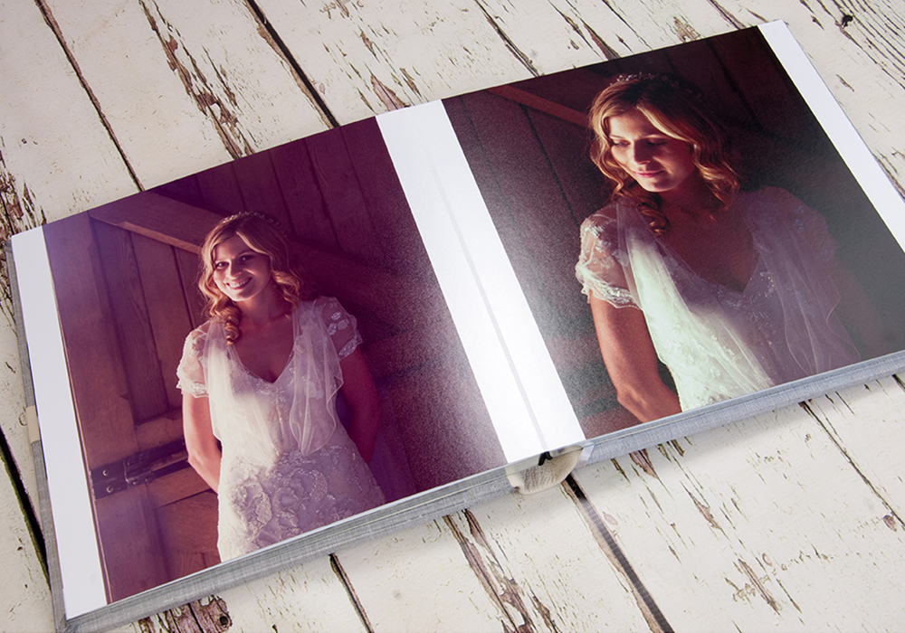 Chic Wedding Albums by Ciaran O'Neill Photography
