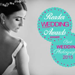 Wedding Journal Reader Awards 2015 Best Wedding Photographer