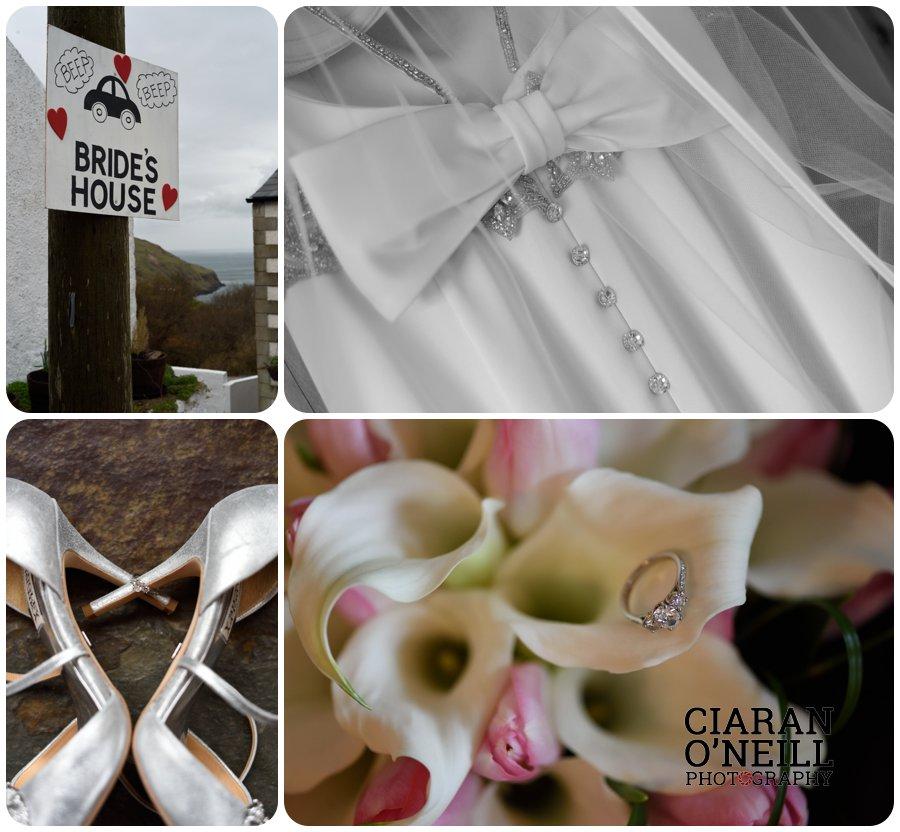 Ciara & Jason's wedding at the Tullyglass Hotel 01