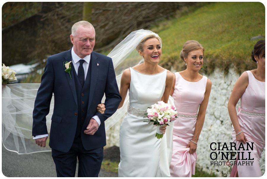 Ciara & Jason's wedding at the Tullyglass Hotel 06