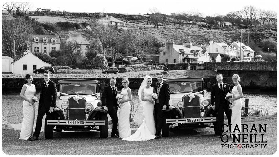 Ciara & Jason's wedding at the Tullyglass Hotel 18