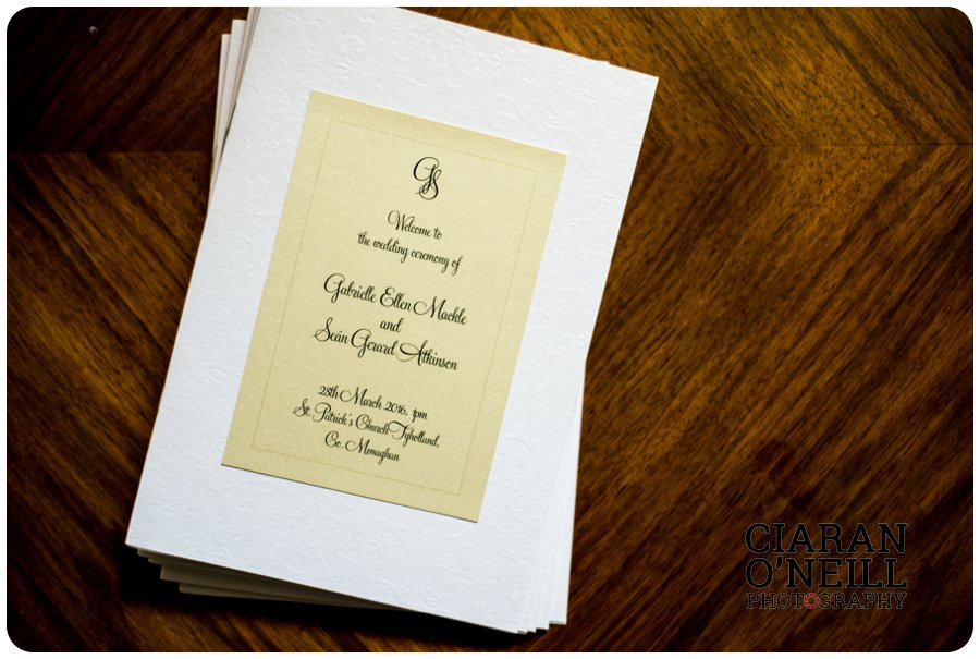 Gabrielle & Seán's wedding at Castle Leslie 14