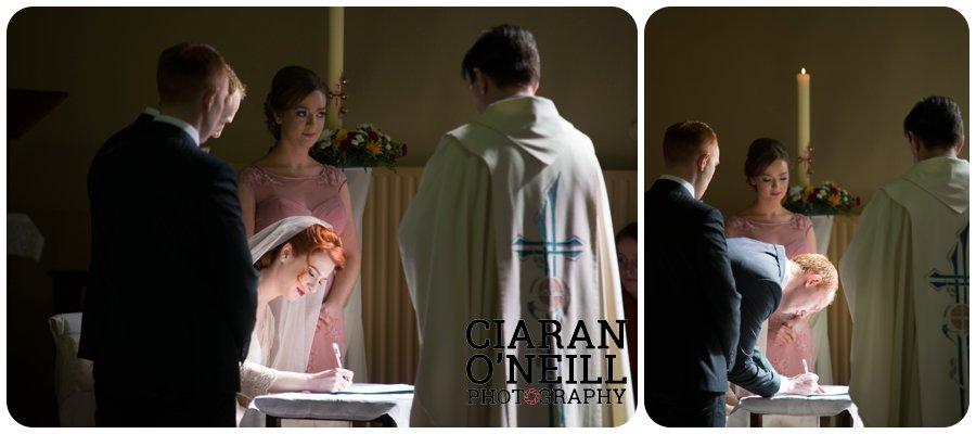 Gabrielle & Seán's wedding at Castle Leslie 16