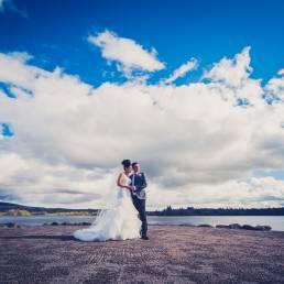Jill & Simon's wedding at Harvey's Point by Ciaran O'Neill Photography