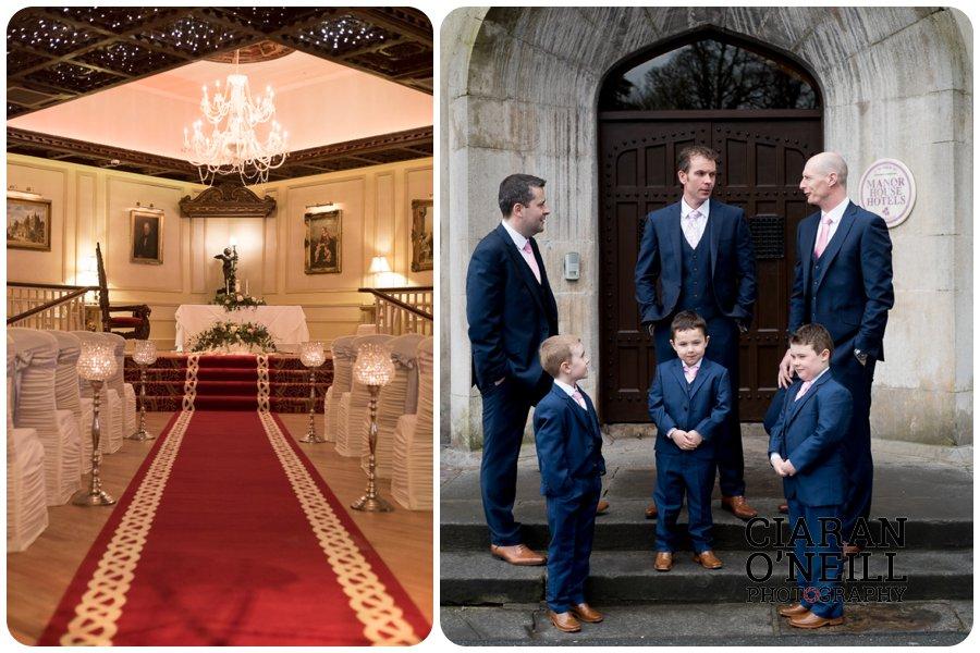 Lorraine & Paddy's wedding at Cabra Castle 04