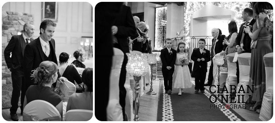 Lorraine & Paddy's wedding at Cabra Castle 05