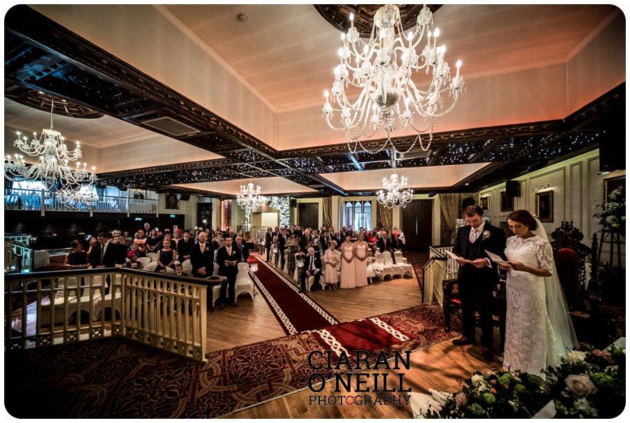 Lorraine & Paddy's wedding at Cabra Castle 08
