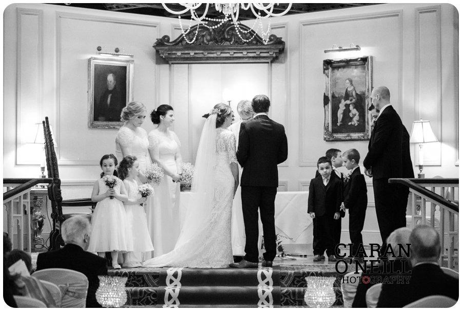 Lorraine & Paddy's wedding at Cabra Castle 09