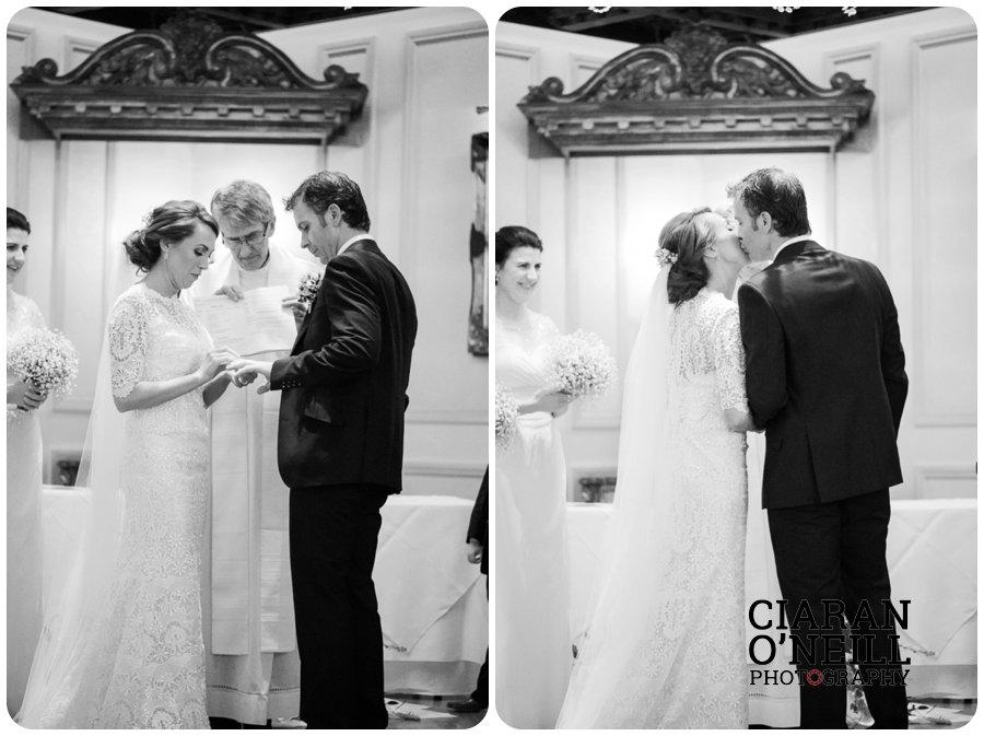 Lorraine & Paddy's wedding at Cabra Castle 10