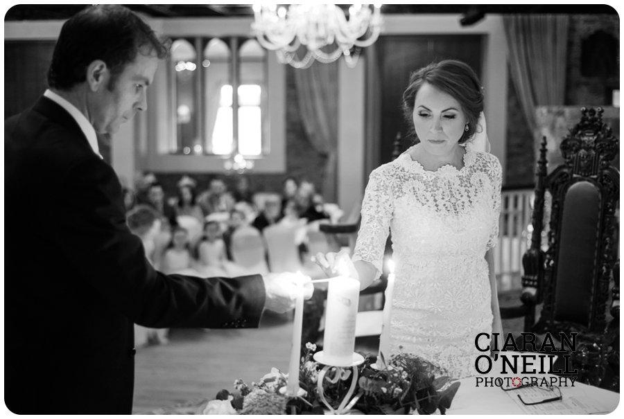 Lorraine & Paddy's wedding at Cabra Castle 11