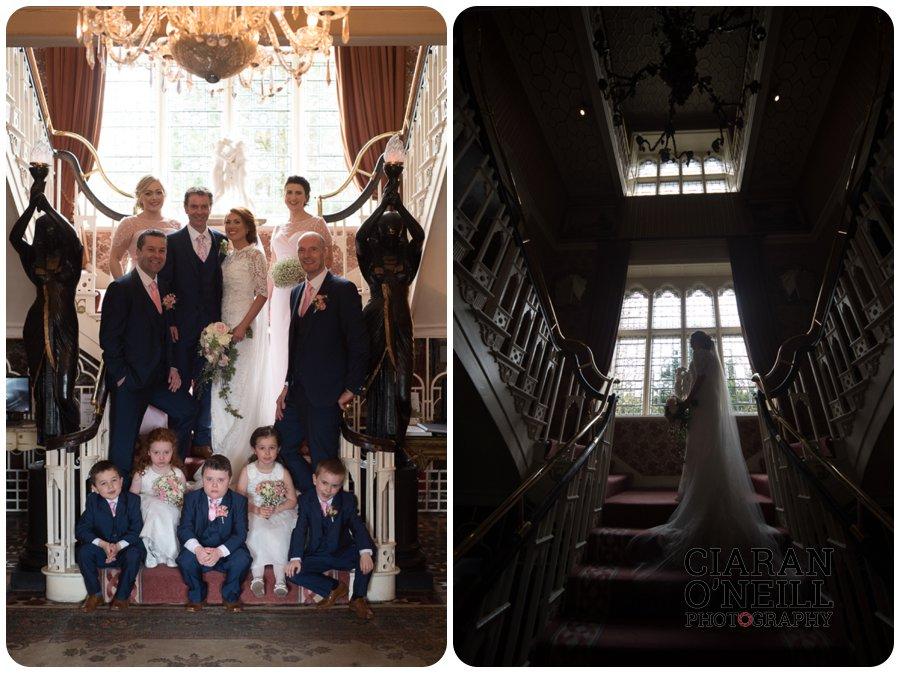 Lorraine & Paddy's wedding at Cabra Castle 14