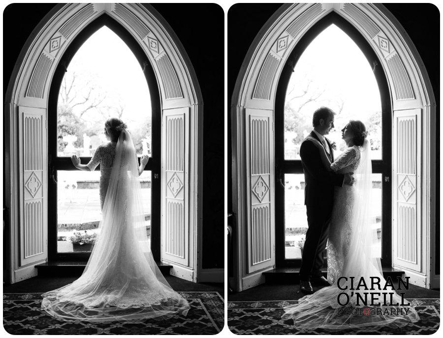 Lorraine & Paddy's wedding at Cabra Castle 15