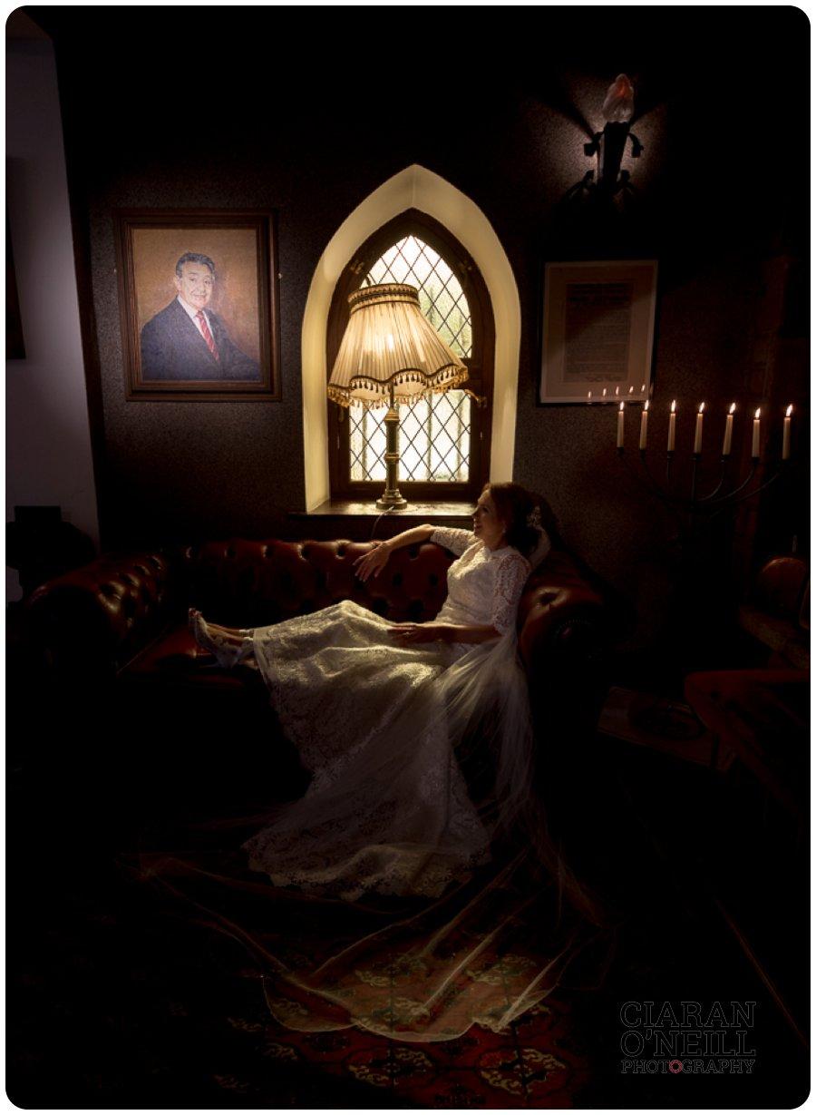 Lorraine & Paddy's wedding at Cabra Castle 17