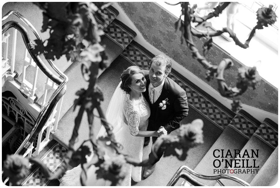 Lorraine & Paddy's wedding at Cabra Castle 19