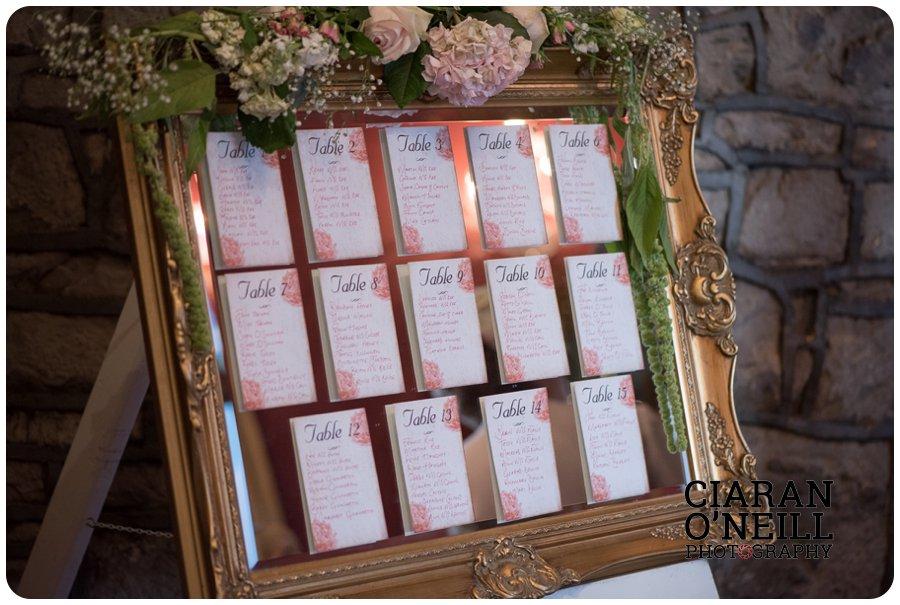 Lorraine & Paddy's wedding at Cabra Castle 22