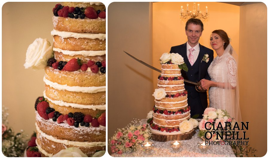 Lorraine & Paddy's wedding at Cabra Castle 23