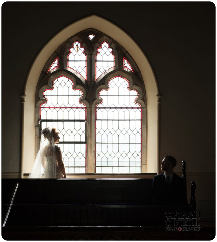 Victoria & Leigh's wedding at Brownlow House 15