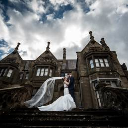 Victoria & Leigh's wedding at Brownlow House