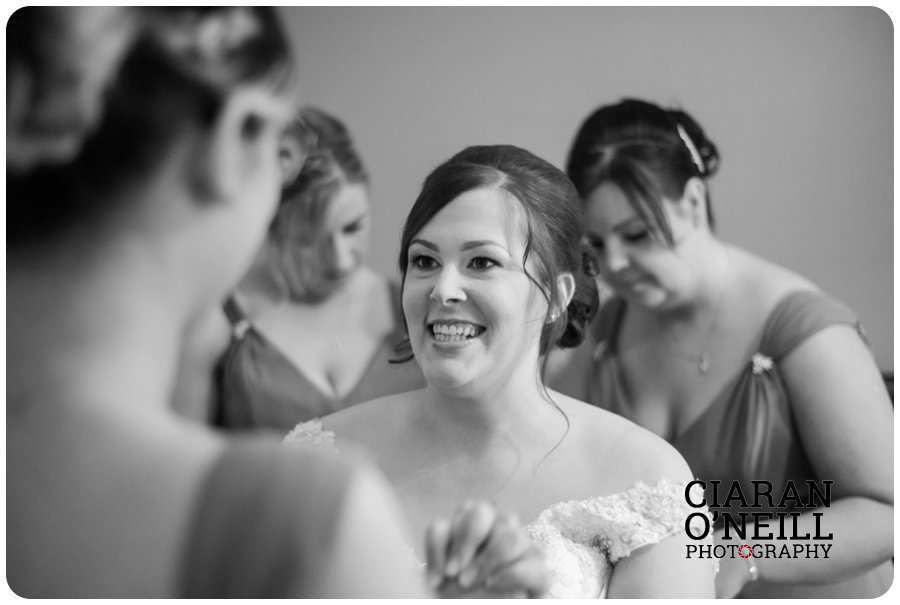 Angela & Connor's wedding at Tullyglass Hotel by Ciaran O'Neill Photography 04