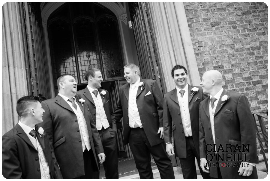 Angela & Connor's wedding at Tullyglass Hotel by Ciaran O'Neill Photography 07