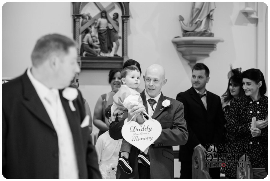 Angela & Connor's wedding at Tullyglass Hotel by Ciaran O'Neill Photography 09