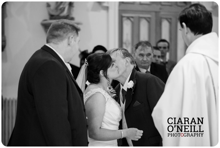 Angela & Connor's wedding at Tullyglass Hotel by Ciaran O'Neill Photography 10