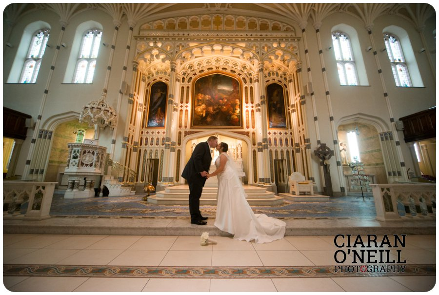 Angela & Connor's wedding at Tullyglass Hotel by Ciaran O'Neill Photography 13