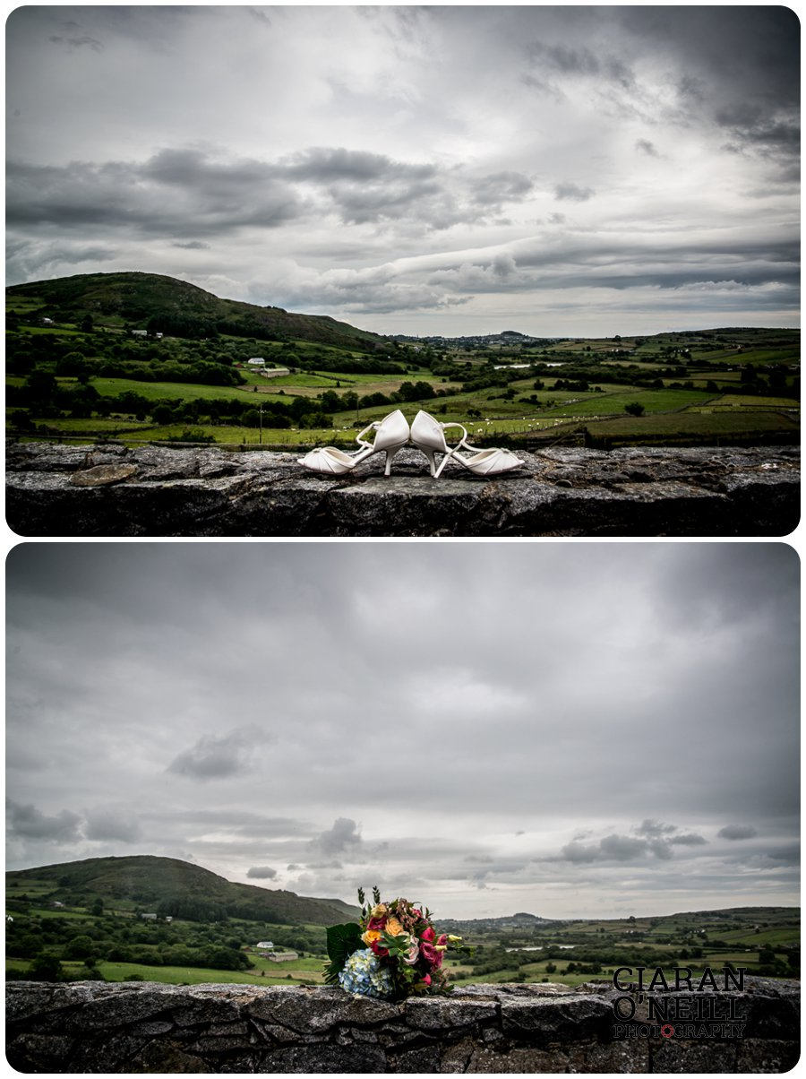 Joanne & Gerard's wedding at Bellingham Castle by Ciaran O'Neill Photography 02