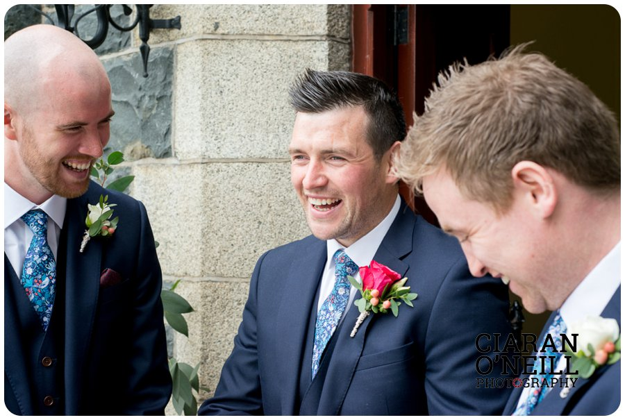 Joanne & Gerard's wedding at Bellingham Castle by Ciaran O'Neill Photography 07