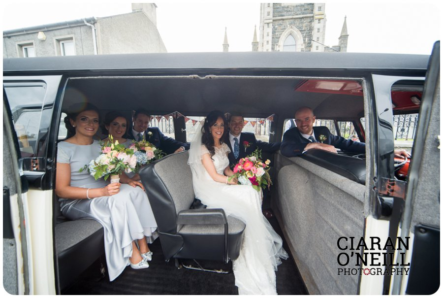 Joanne & Gerard's wedding at Bellingham Castle by Ciaran O'Neill Photography 18