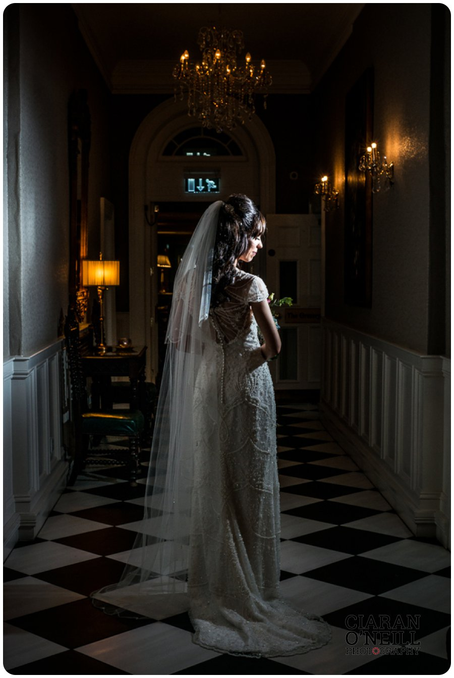 Joanne & Gerard's wedding at Bellingham Castle by Ciaran O'Neill Photography 21