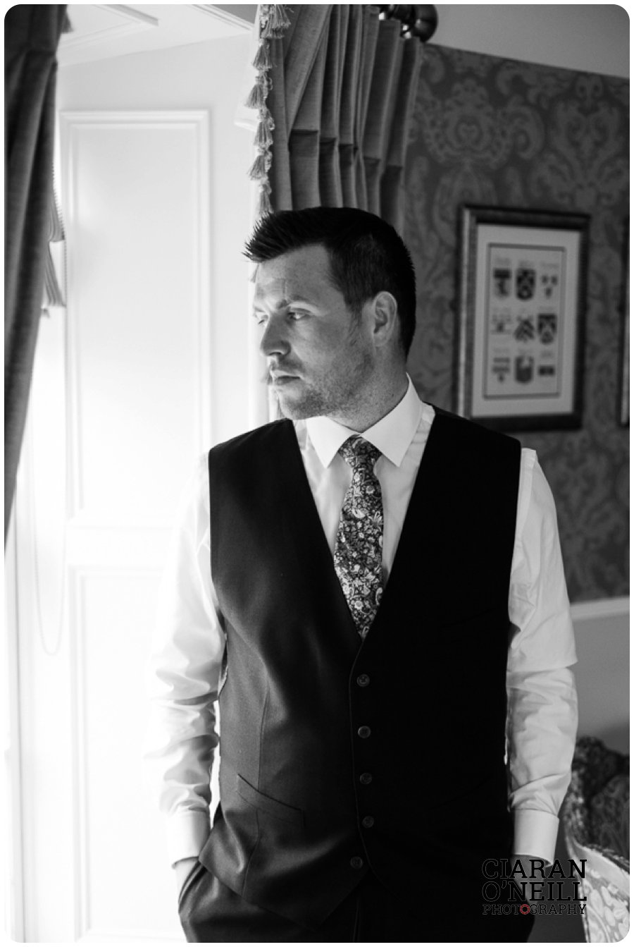 Joanne & Gerard's wedding at Bellingham Castle by Ciaran O'Neill Photography 25