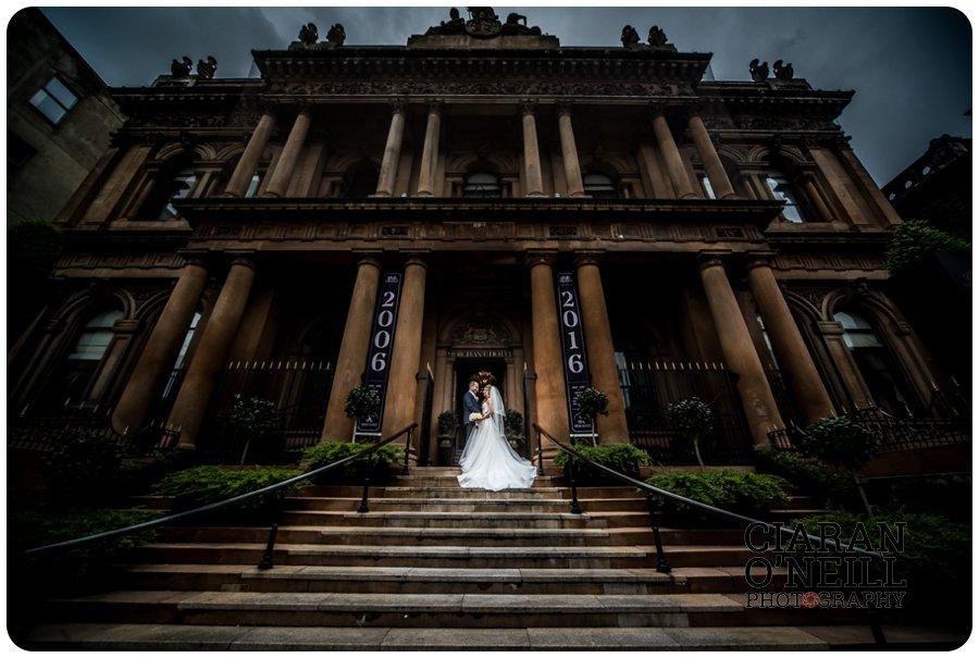 Linda & Jae's wedding at the Merchant Hotel by Ciaran O'Neill Photography 19