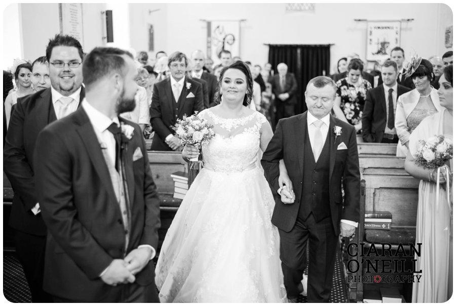 Amy & Stephen's wedding at Jacksons Ballybofey 09