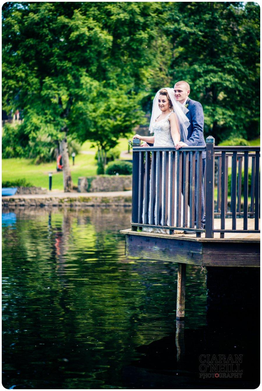 Amy & Tyler's wedding at Lusty Beg Island by Ciaran O'Neill Photography 14
