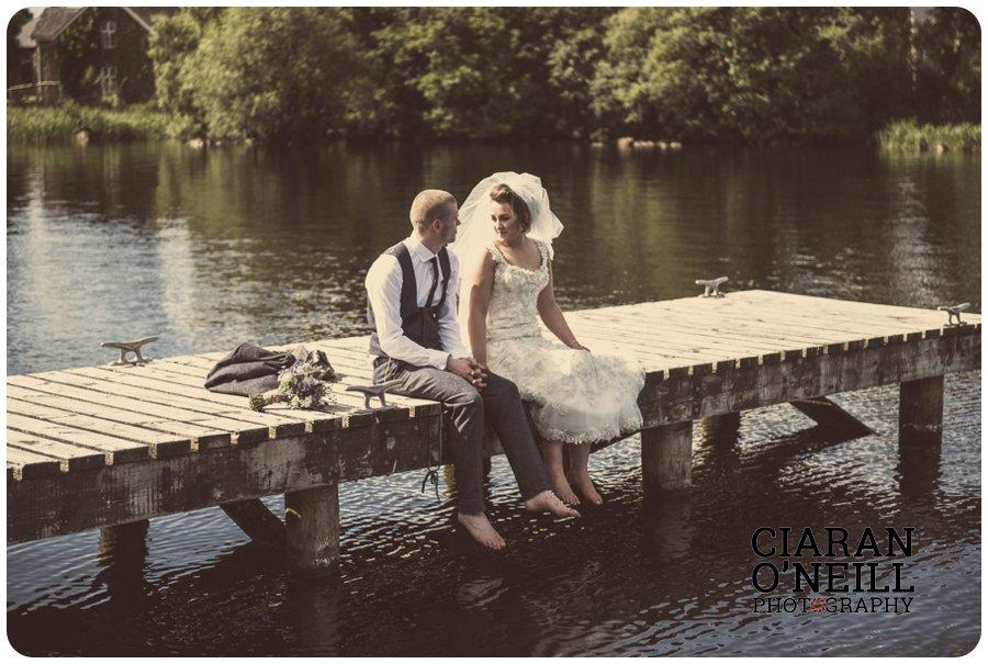 Amy & Tyler's wedding at Lusty Beg Island by Ciaran O'Neill Photography 17