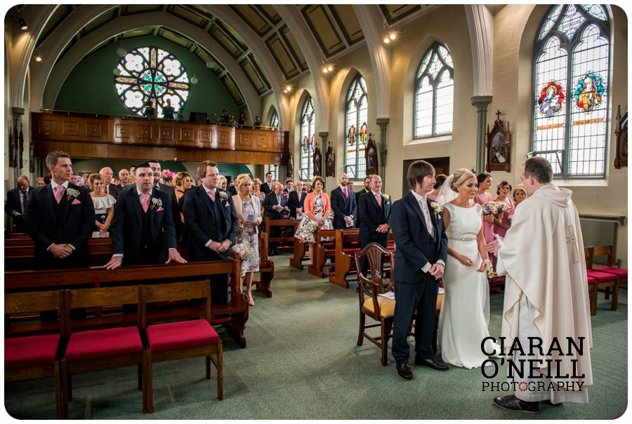 Emma & Kevin's wedding at Cabra Castle by Ciaran O'Neill Photography 10