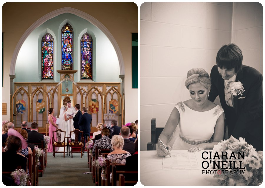 Emma & Kevin's wedding at Cabra Castle by Ciaran O'Neill Photography 11