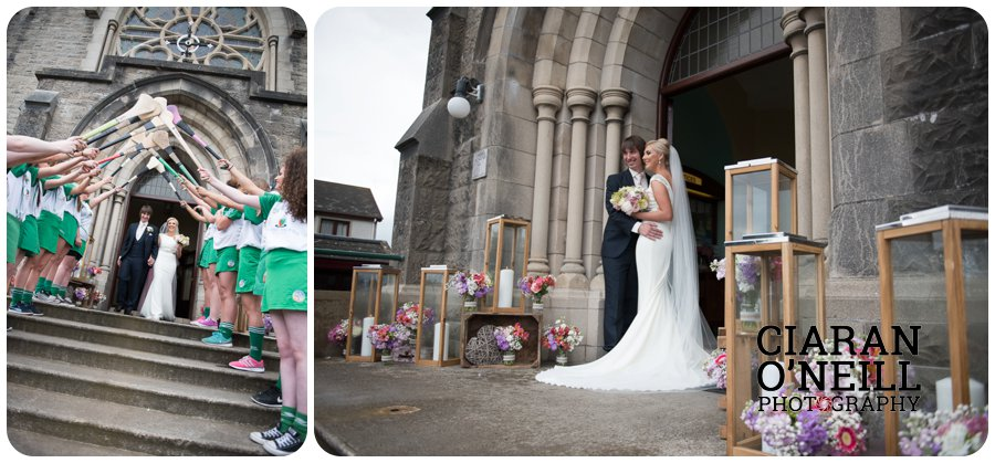 Emma & Kevin's wedding at Cabra Castle by Ciaran O'Neill Photography 12