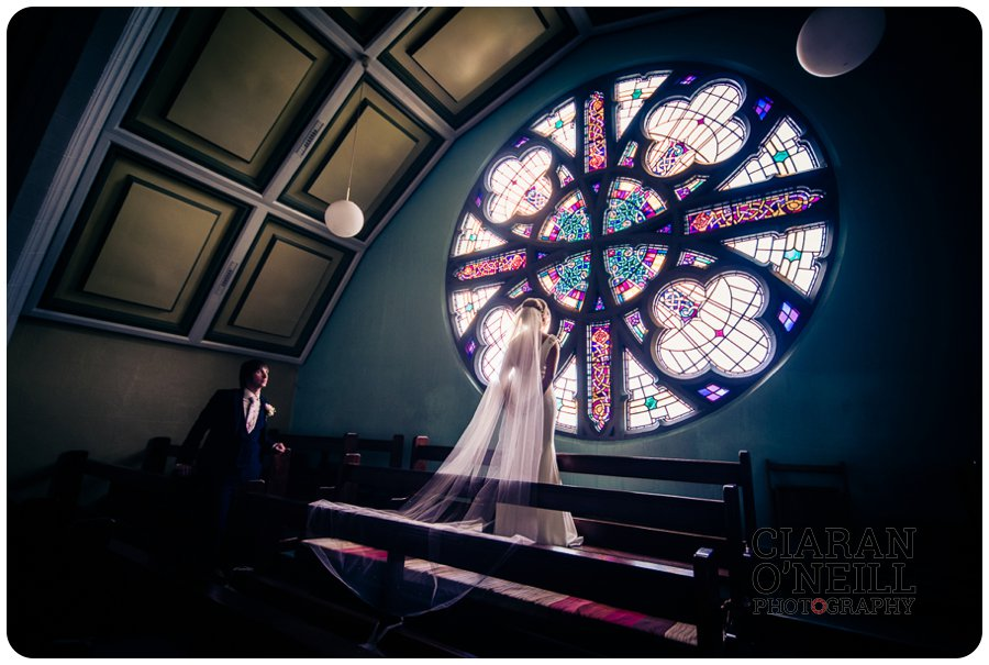 Emma & Kevin's wedding at Cabra Castle by Ciaran O'Neill Photography 15