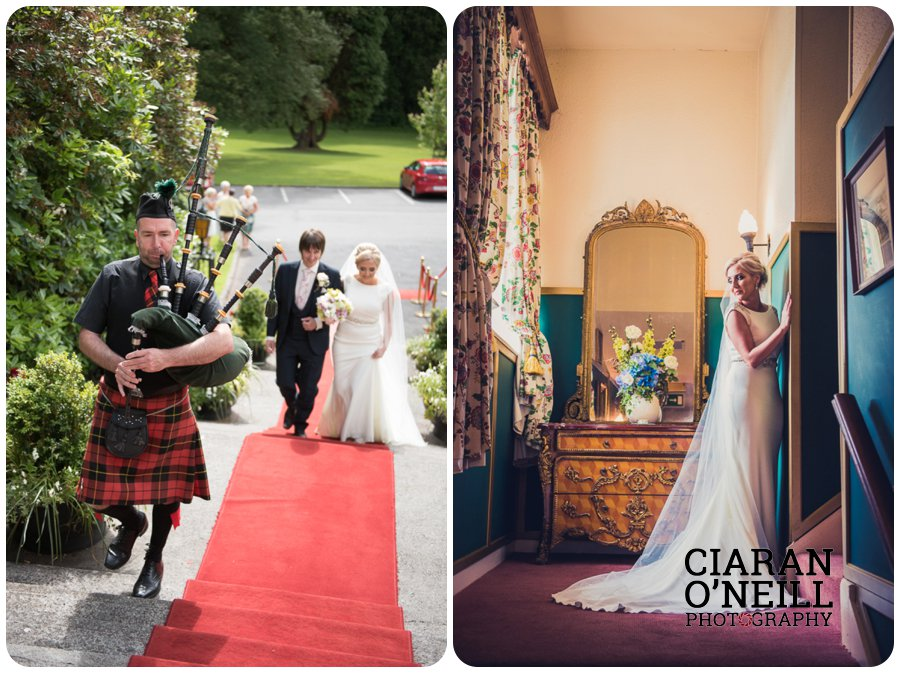 Emma & Kevin's wedding at Cabra Castle by Ciaran O'Neill Photography 17