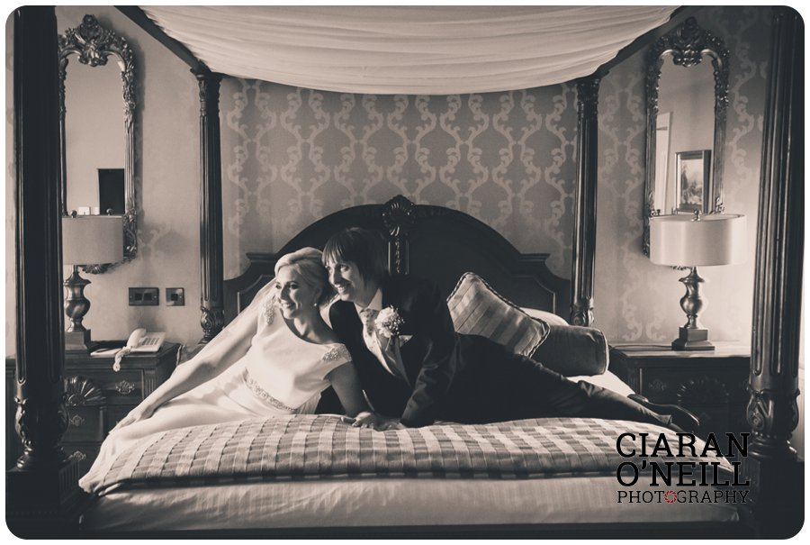 Emma & Kevin's wedding at Cabra Castle by Ciaran O'Neill Photography 19