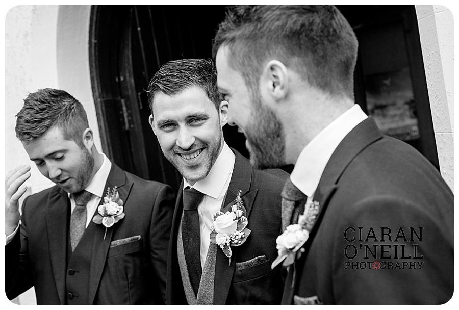 Kelly & Aodhan's wedding at Ballymagarvey Village by Ciaran O'Neill Photography 03