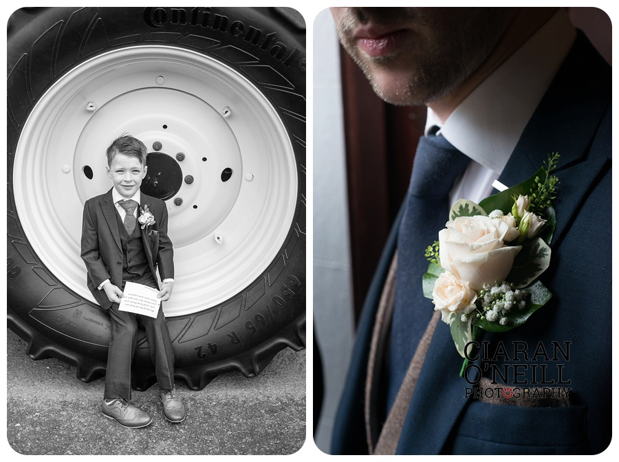 Kelly & Aodhan's wedding at Ballymagarvey Village by Ciaran O'Neill Photography 04