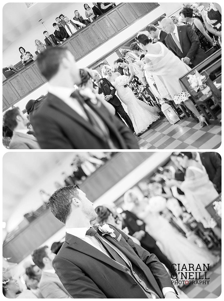 Kelly & Aodhan's wedding at Ballymagarvey Village by Ciaran O'Neill Photography 06