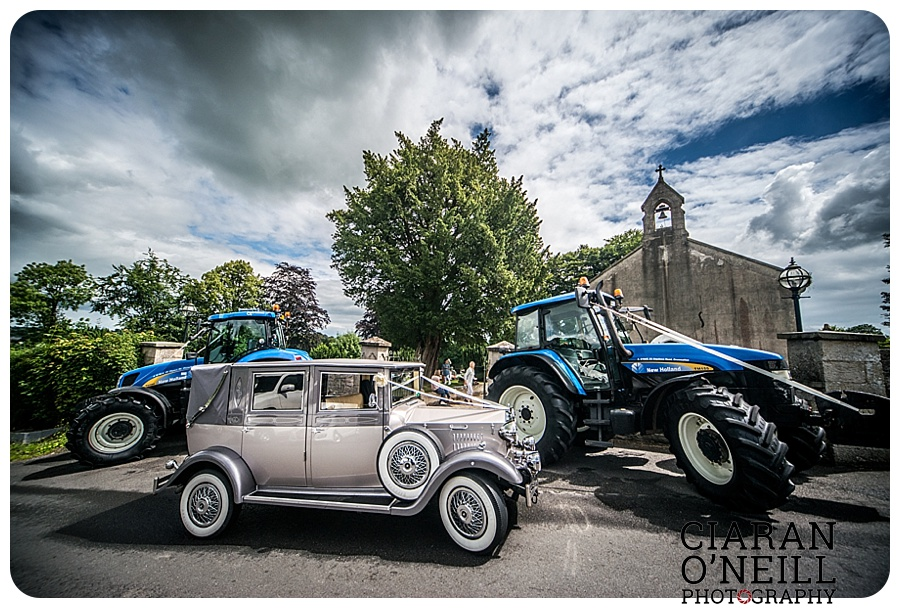 Kelly & Aodhan's wedding at Ballymagarvey Village by Ciaran O'Neill Photography 10